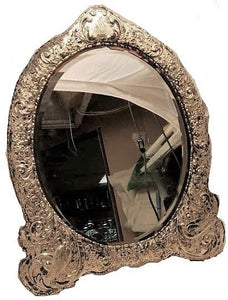 Large Sterling Silver Mirror by William Collins