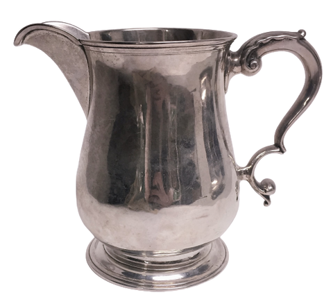 Sterling Silver Cream Pitcher / Jug by Bradbury