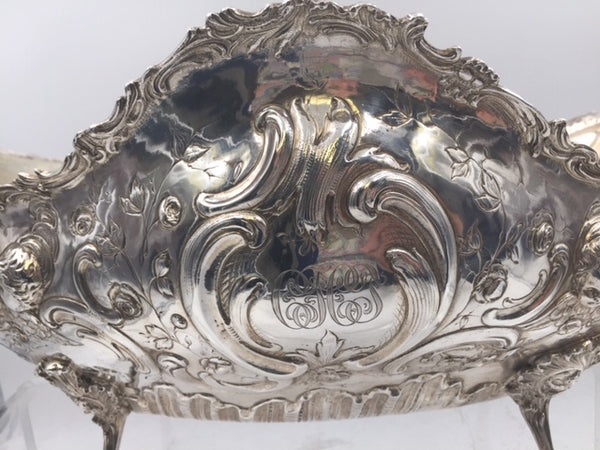 Continental Silver Centerpiece With Cherubs