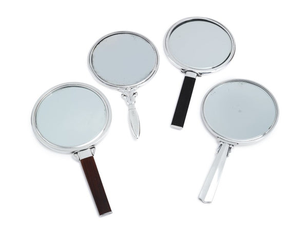 Four Silver Mirrors by Georg Jensen