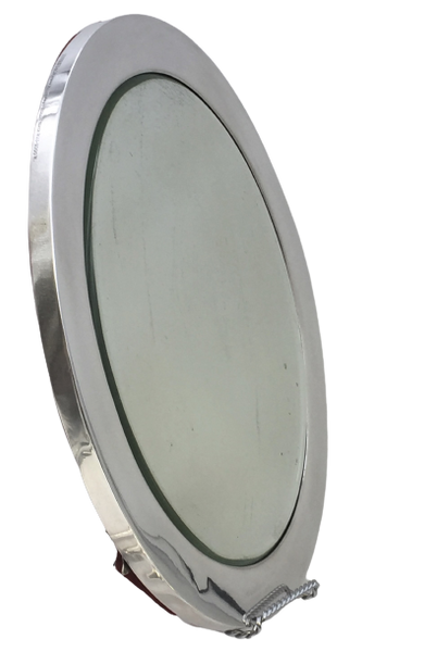 Tiffany & Co. Art Deco Sterling Silver Table Mirror/ Platter in Art Deco Style