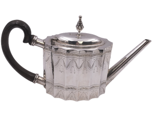Sterling Silver Tea Pot by Tane