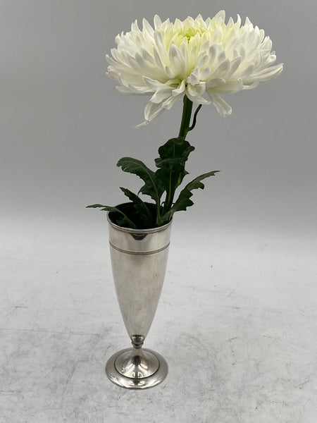 Tiffany & Co Sterling Silver Vase from 1915 in Art Deco Style