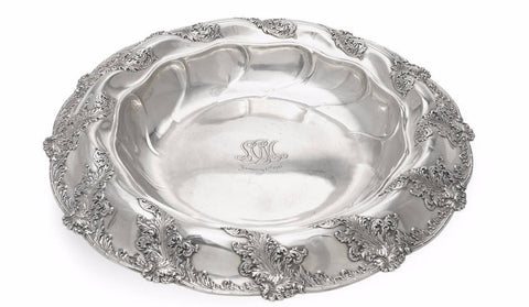 Tiffany & Co. Large Sterling Silver Centerpiece Bowl 1892-1902