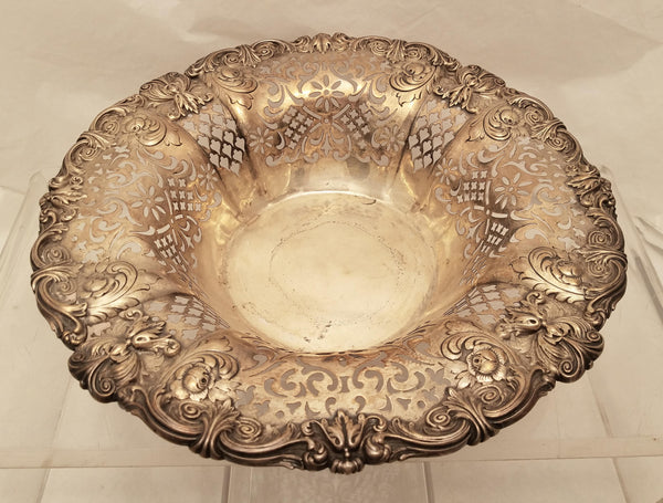 Gorham Sterling Silver Pierced Centerpiece/ Bowl