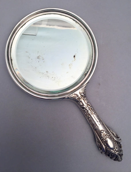 Bailey, Banks & Biddle Turn of the Century Sterling Silver Hand Mirror
