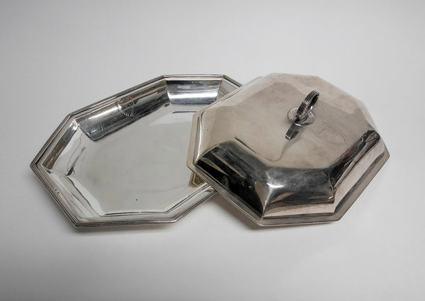 Pair of Sterling Silver Covered Dishes By A. Fogelberg Circa 1785
