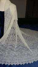 Load image into Gallery viewer, The Shetland Stars Square Shawl NL