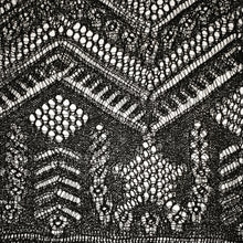Load image into Gallery viewer, The Shetland Stars Rectangle Shawl ENG