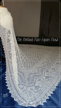 Load image into Gallery viewer, The Shetland Stars Square Shawl ENG