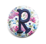 Aster INTERCHANGEABLE EMBROIDERED Button