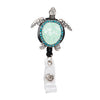 Turtle Sparkle and Shine Rhinestone Badge Reel