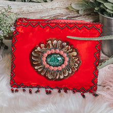 Load image into Gallery viewer, Silk Velvet Bohemian Crossbody Bag (Horizontal)