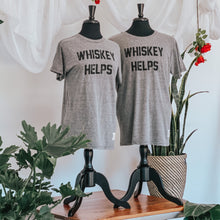 Load image into Gallery viewer, Retro Brand Whiskey Helps Tee