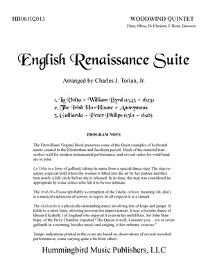 ENGLISH RENAISSANCE SUITE