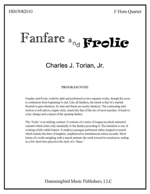 FANFARE AND FROLIC