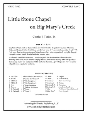 LITTLE STONE CHAPEL ON BIG MARY'S CREEK