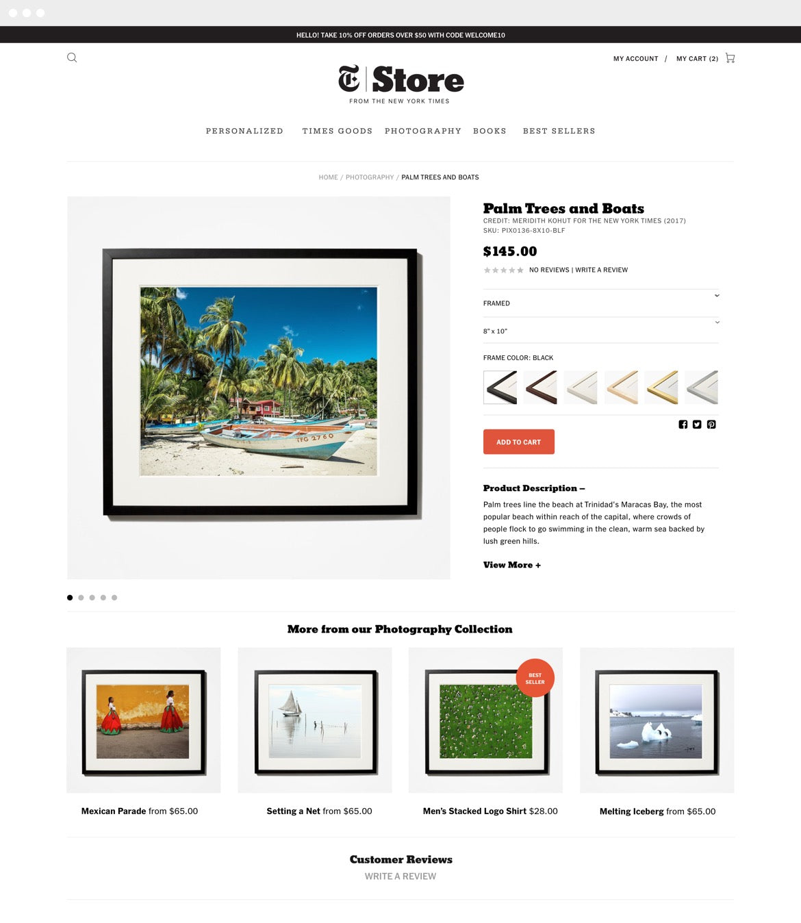NYT Store Project Image