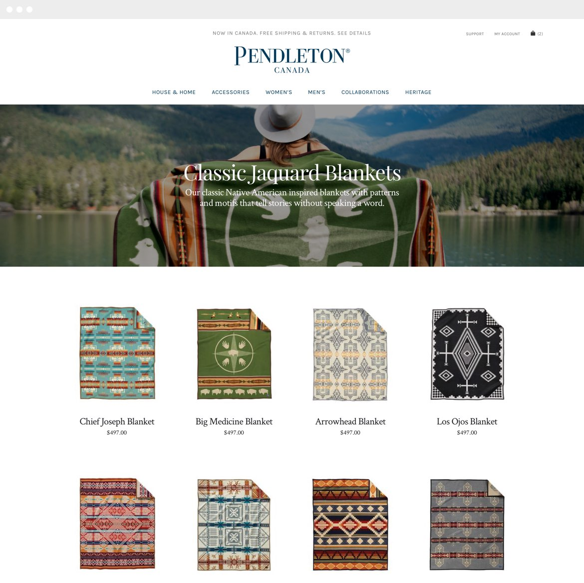 Pendleton Project Image