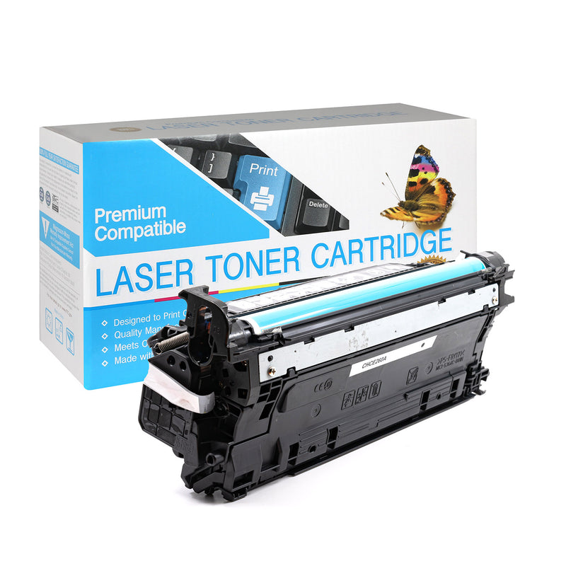 HP Compatible CE260A  Black Toner Cartridge