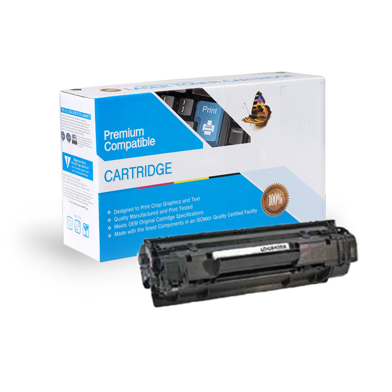 HP CB435A Compatible Black Toner Cartridge
