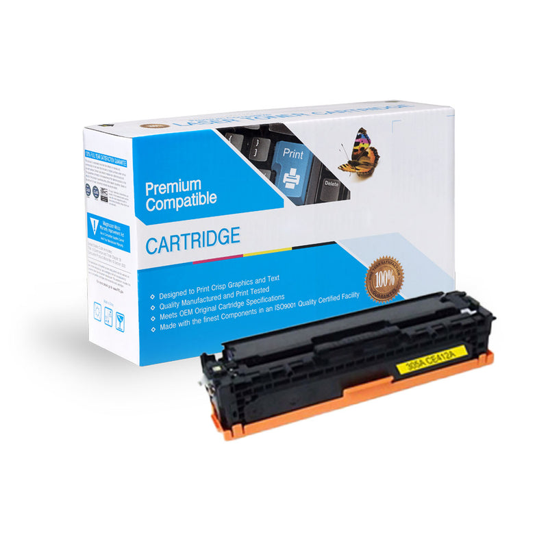 HP CE412A (305A) Compatible Toner-Yellow
