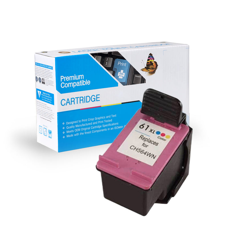HP CH564WN (HP 61XL) INK CARTRIDGE - COLOR