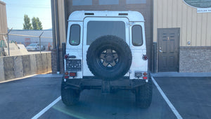 "SOLD! 1984 ""The Silversmith"" Defender 90 Left Hand Drive"
