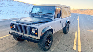"SOLD!  1986 ""The Farnham"" DEFENDER 110 SOFT-TOP"