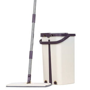 Flat 360 Degree Mop + Bucket - Veignity PH
