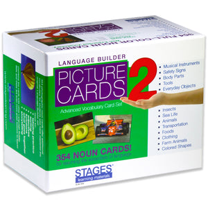 Language Builder Nouns 1 & 2 + Software- picture cards 2