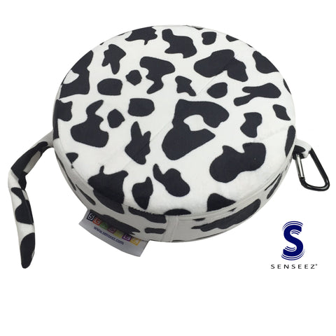 Senseez Furry Cow Cushion