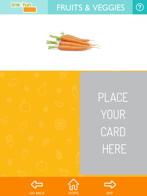 Link4fun Food Cards 3-in-1 Library