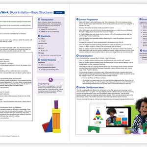 Language Builder ARIS Stage 1 Curriculum & Full Set of Support Materials- Independent Play/ Work