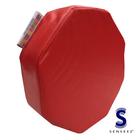 Senseez Red Octagon Cushion
