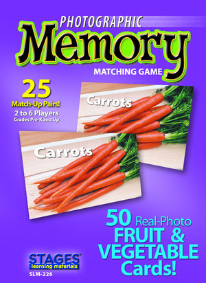 Fruits & Vegetables Memory