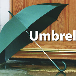 Everyday Objects Memory Matching Game- Green Umbrella