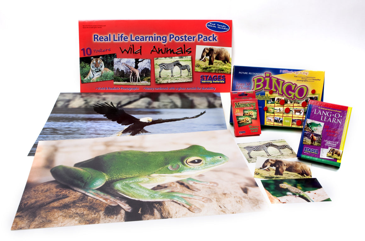 Animal Theme Learning Kit