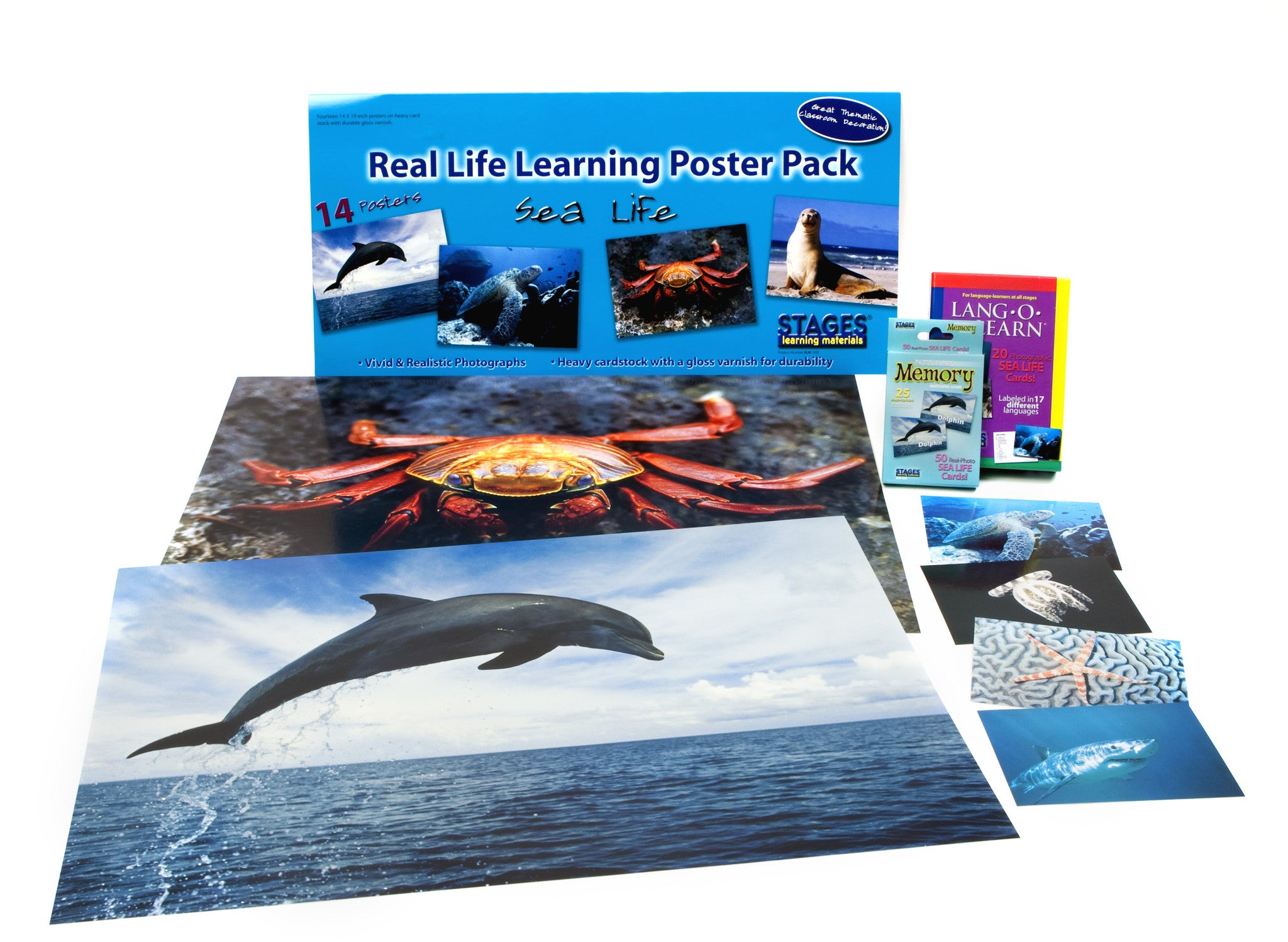 Sea Life Learning Kit Stages Learning Materials