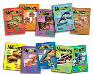 Set of 10 Memory Games