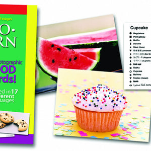 Lang-O-Learn Food Cards- cupcake and watermelon