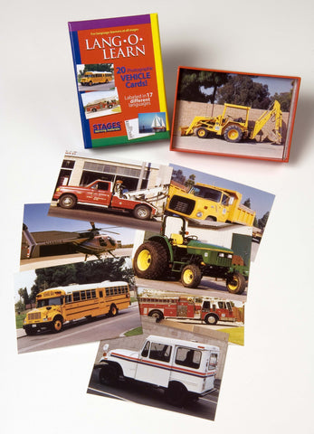Lang-O-Learn Vehicles Cards
