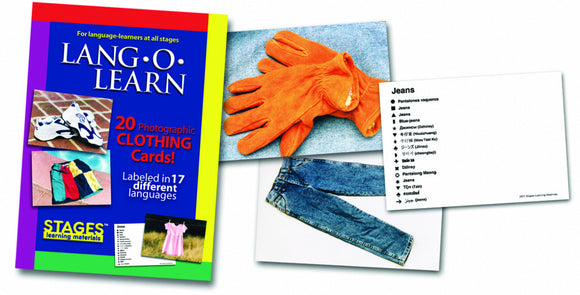 Lang-O-Learn Clothing Cards