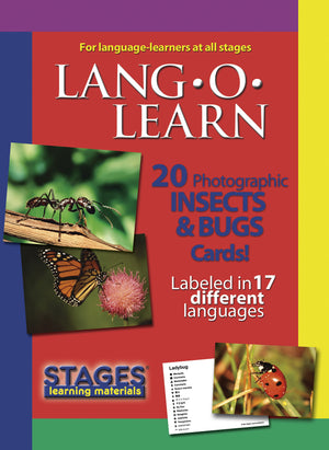Lang-O-Learn Insects & Bugs Cards