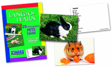 Lang-O-Learn Pets Cards
