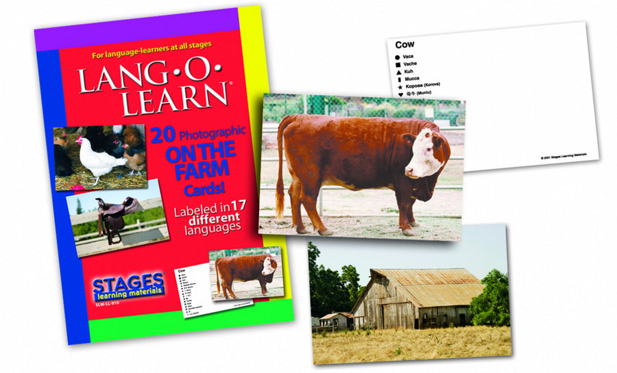 Lang-O-Learn On-the-Farm Cards