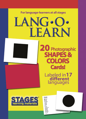 Lang-O-Learn Shapes & Colors Cards