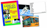 Lang-O-Learn Occupation Cards- astronaut and school bus
