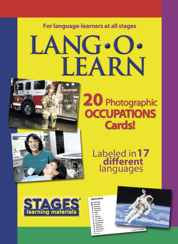 Lang-O-Learn Occupation Cards