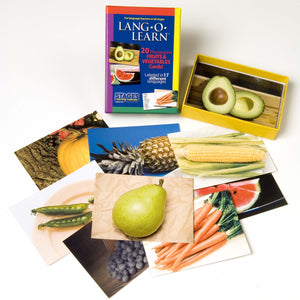 Lang-O-Learn Fruits & Vegetables Cards